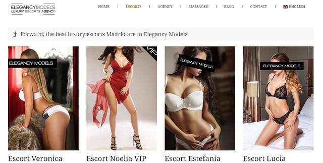 luxury escorts madrid