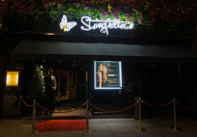 stringfellows london strip club