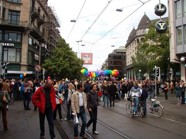 zurich pride LGBTQ switzerland